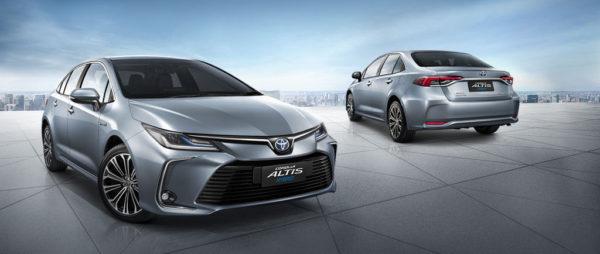 Corolla Altis 2020 hoàn toàn mới