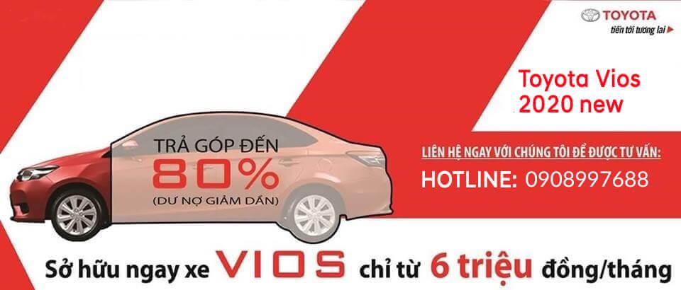 Thủ tục mua xe Toyota Vios 2020 trả góp tại Bắc Ninh