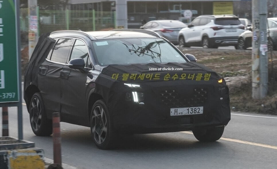 Hyundai SantaFe 2020 Facelift