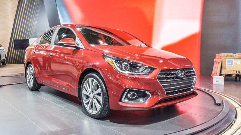 Hyundai Accent trong sự kiện ra mắt