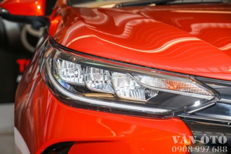 Cụm đèn pha xe Vios 2021